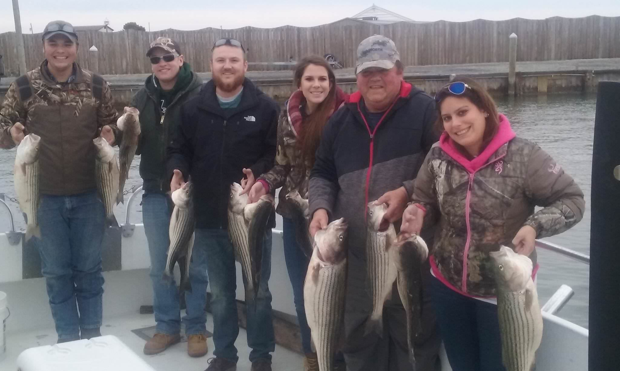 Maryland Charter Fishing for Rockfish on the Chesapeake Bay!