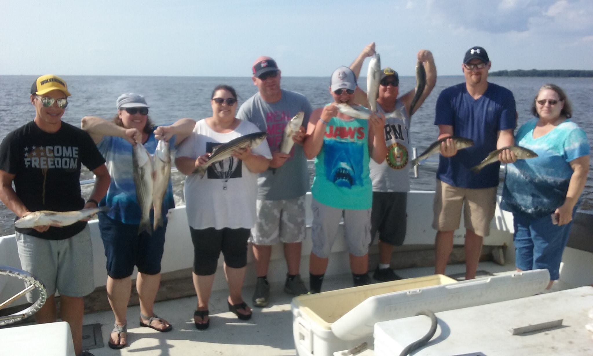 Chesapeake Bay Fishing Action on Friday the 13th!