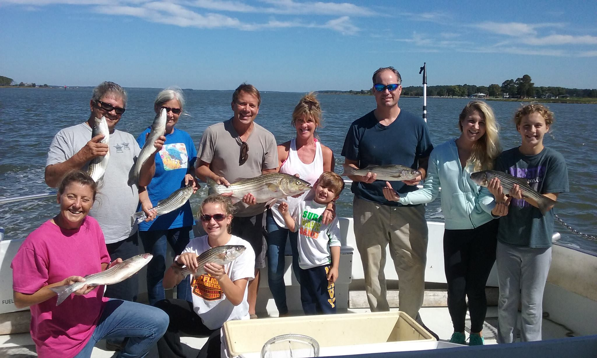 More Rockfishing On Maryland's Chesapeake Bay!