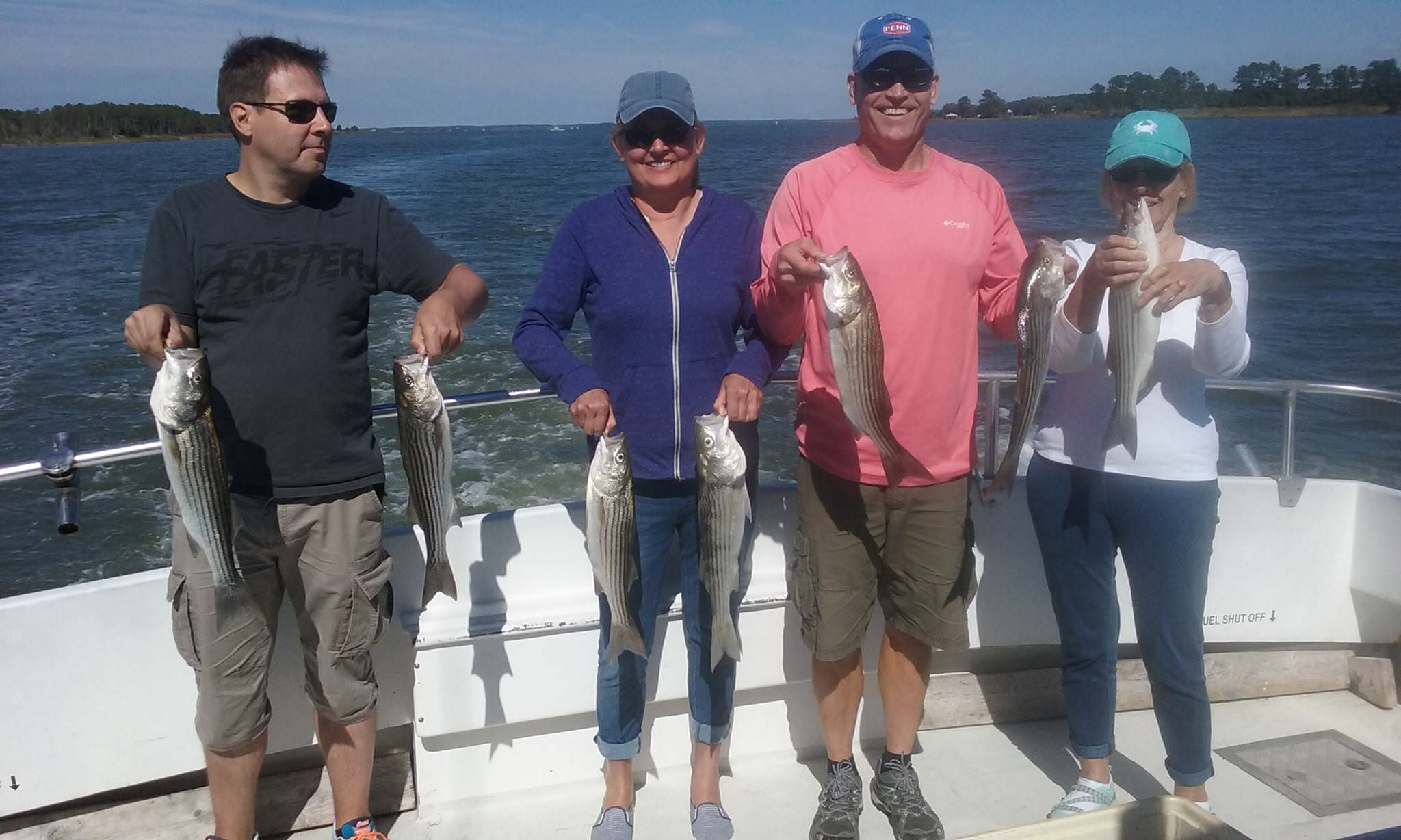 Fun With Finns On The Chesapeake Bay Catching Rockfish!